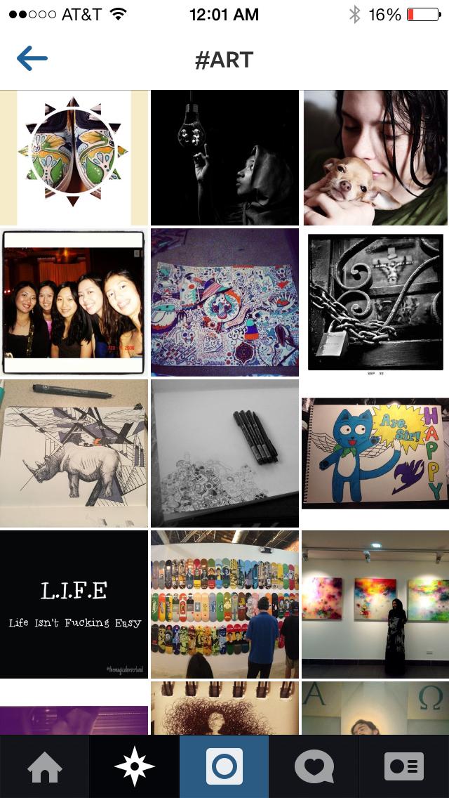 Instagram is My Art Museum