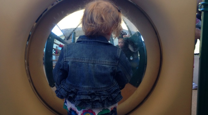Reflections on the playground